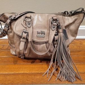 Limited Edition Taupe Leather Coach Madison Brynne
